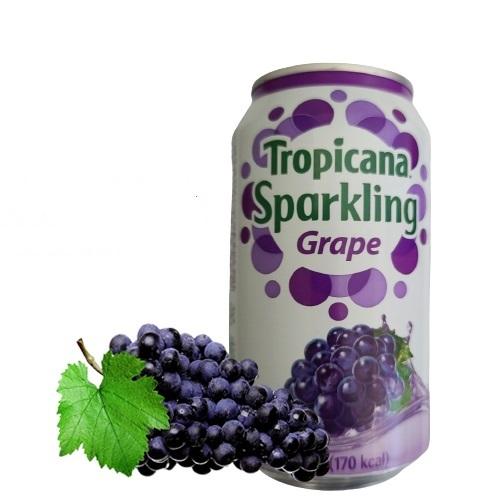 Tropicana Sparkling Soda Grape Flavour