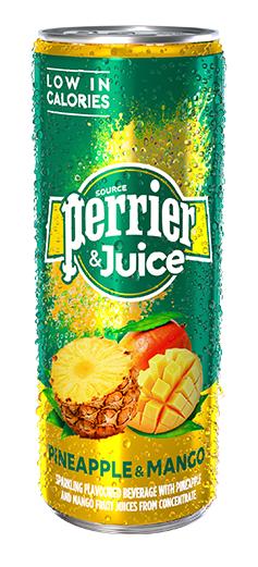 Perrier Pineapple & Mango juice