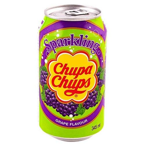 Chupa Chups Sparkling Soda Grape Flavour