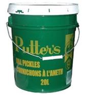 Dill Green Tomato Pickles