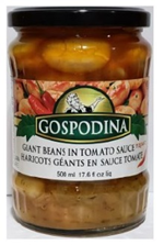 Gospodina Giant Beans with hot pepper in Tomato