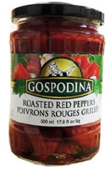 Gospodina Roasted Red Peppers