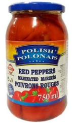 Pickled Sweet Red Peppers
