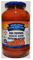 Marinated Red Peppers