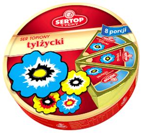 SERTOP TYCHY Cream Cheese Tilsiter