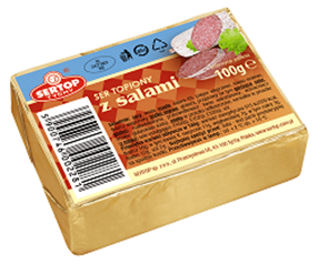 SERTOP TYCHY RECTANGLE CAKE with Salami