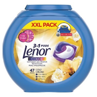 Lenor gel capsules Gold Orchid