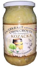 Sauerkraut with MUSHROMS