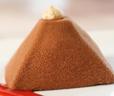 Chocolate and Crème brûlée Pyramid