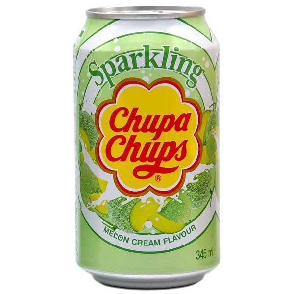 Chupa Chups Sparkling Soda Melon Flavour