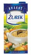 Krakus Sour soup.