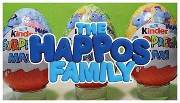 Kinder Surprise THE HAPPOS Family