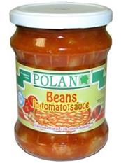 Polan Beans in Tomato sauce