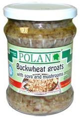 Polan Buckwheat with Mushroom and Soya