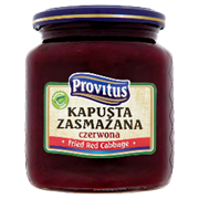 Provitus Fried Red Cabbage