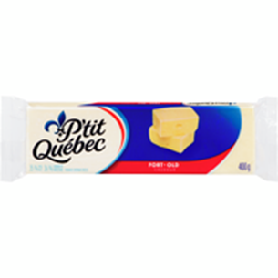 P'TIT QUEBEC OLD WHITE CHEDDAR CHEESE