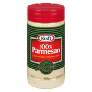 100% GRATED PARMESAN CHEESE