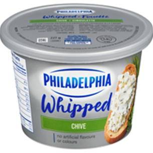 WHIPPED CHIVE CREAM CHEESE SPREAD