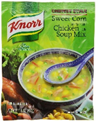 Knorr Halal Chicken Corn Soup