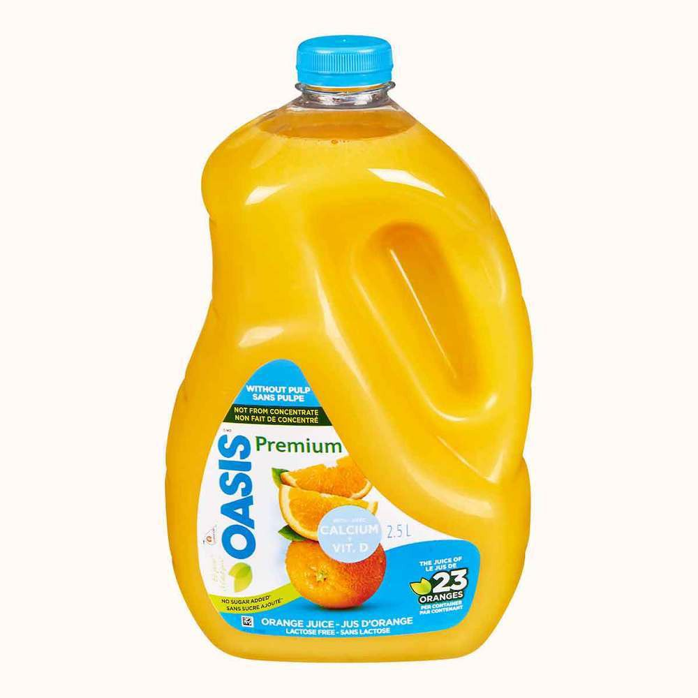 Orange juice with Calcium-Vitamin D, Premium