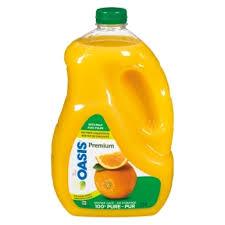 Orange Juice With Pulp, Premium